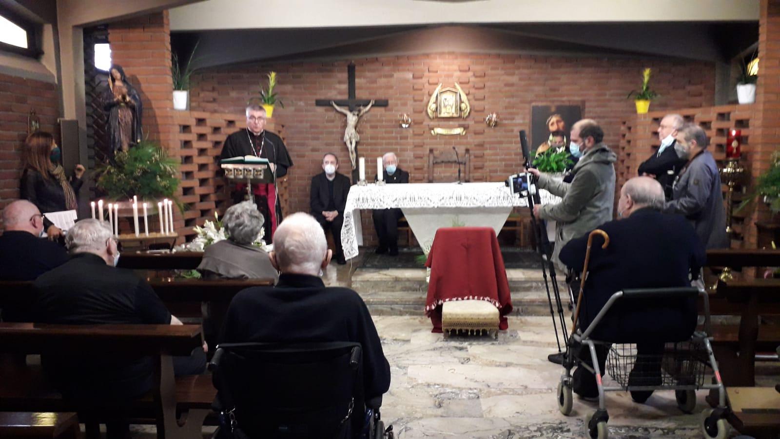 Pranzo alla Residenza Cerati con Monsignor Cevolotto, Vescovo della Diocesi Piacenza-Bobbio.